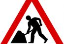 Informācija par ceļa remontdarbiem