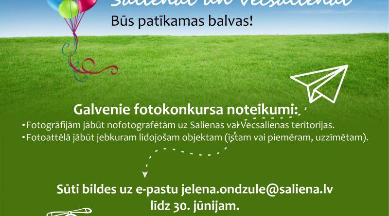 """FOTOKONKURSS """"LIDOJUMS APKĀRT SALIENAI UN VECSALIENAI"""""""
